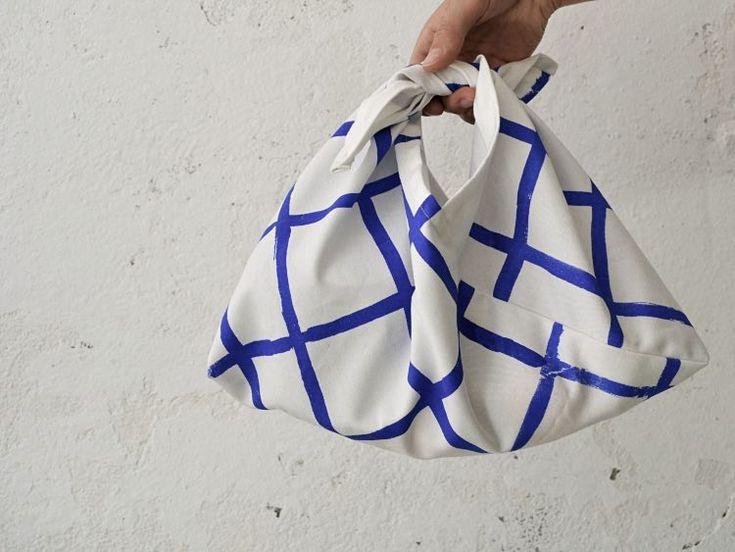 Tutoriale DIY: Cómo coser un bolso japonés estilo Azuma Bukuro vía DaWanda.com