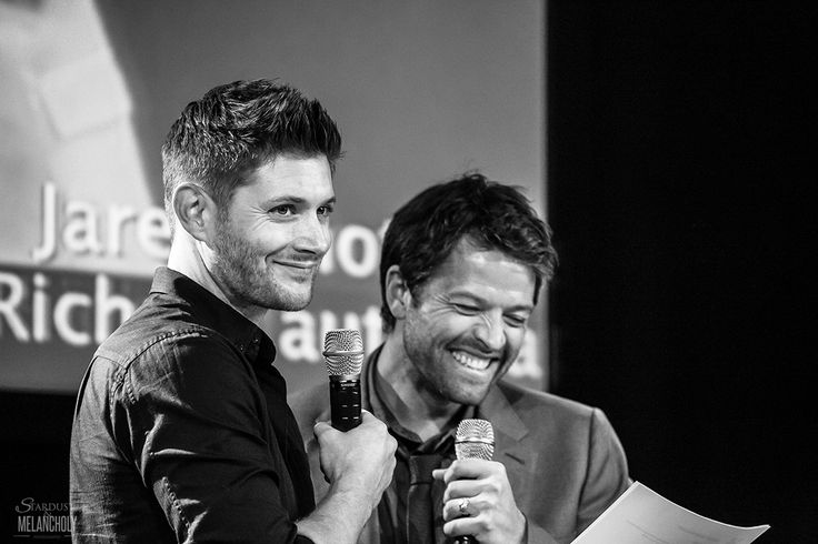 Jensen Ackles and Misha Collins, Jus In Bello V, 2014 ...