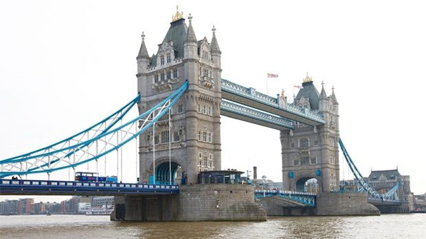 London Sightseeing Bus Tour. Not big on a bus tour, but if pressed for time on your trip, it's the best way to see a lot of a city in a limited amount of time!