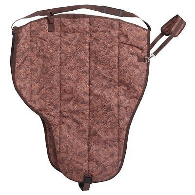 Saddle Covers 183416: Tough-1 Deluxe Print Western Saddle Carrier Tooled Leather Brown -> BUY IT NOW ONLY: $74.88 on eBay!