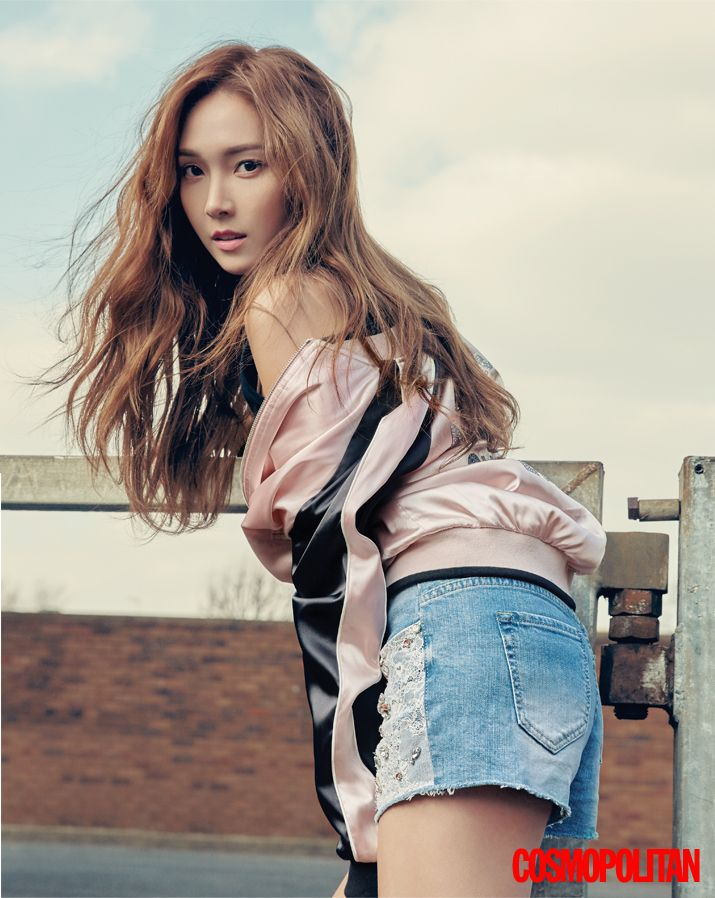 Jessica - Cosmopolitan Magazine May Issue '16