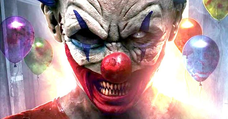 Clowntergeist Sneak Peek Will Reignite Your Killer Clown Phobia -- A young woman's intense fear of clowns is put to the test in the horror thriller Clowntergeist. -- http://movieweb.com/clowntergeist-trailer-poster/