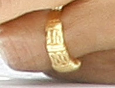 Obama's ring: 'There is no god but Allah'  http://www.obamagod.com/obamas-ring-there-is-no-god-but-allah/
