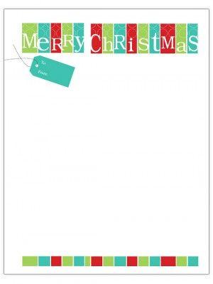 template for christmas letter