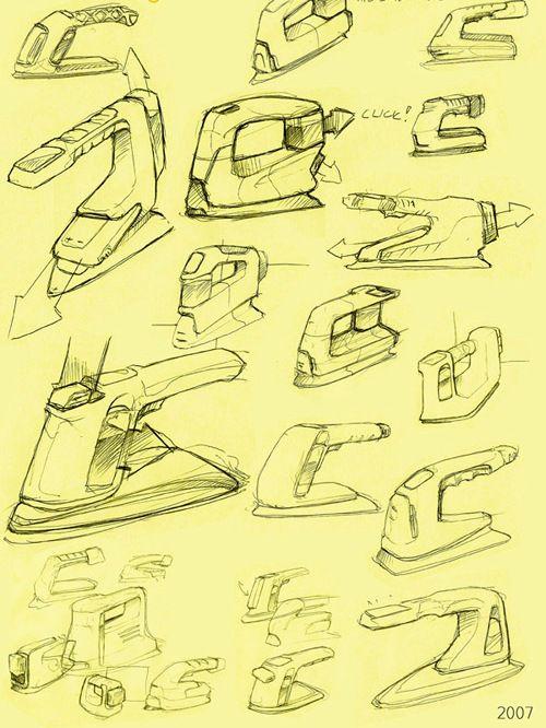 sketches 다리미