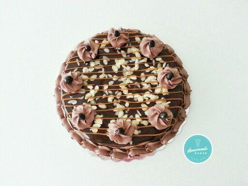 Mocha Almond Cheesecake