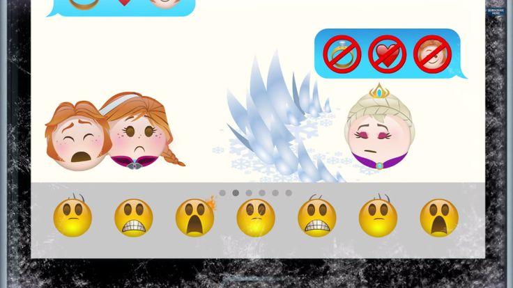 Disney recrea la película Frozen con emoticonos | Tiempo de Publicidad