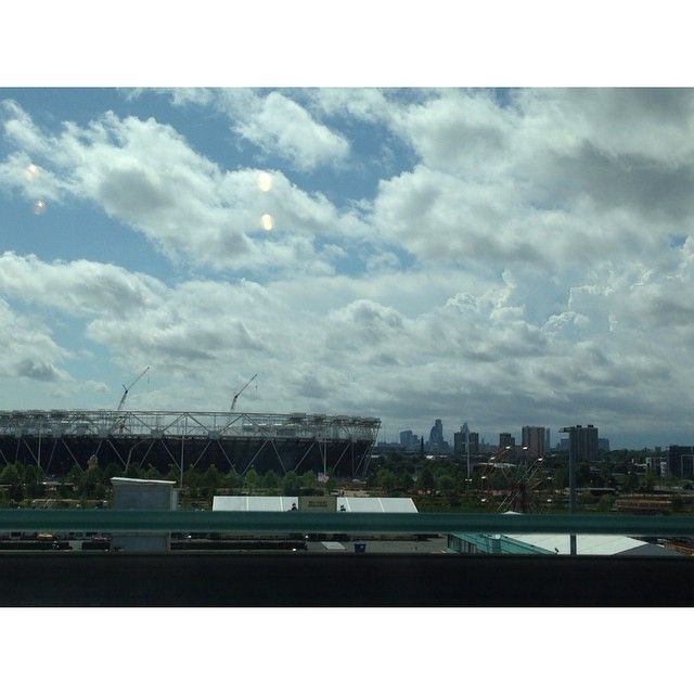 The Olympic Park from John Lewis at Westfield Stratford City, London