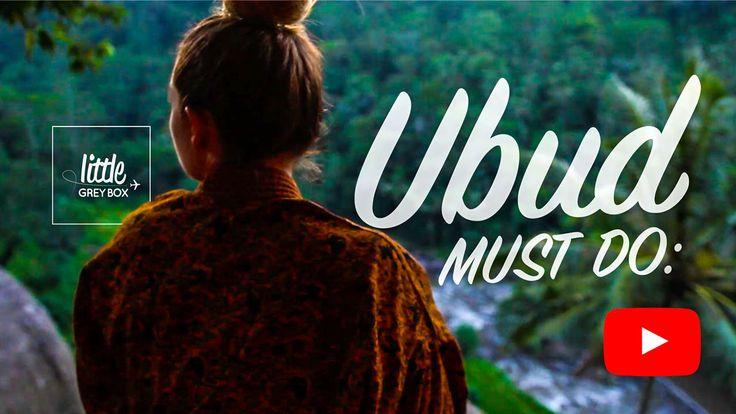 Must do: Ubud, Indonesia
