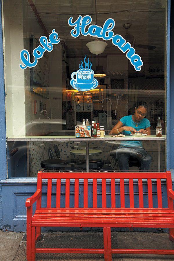 Cafe Habana in New York City, NY, USA → http://cafehabana.com
