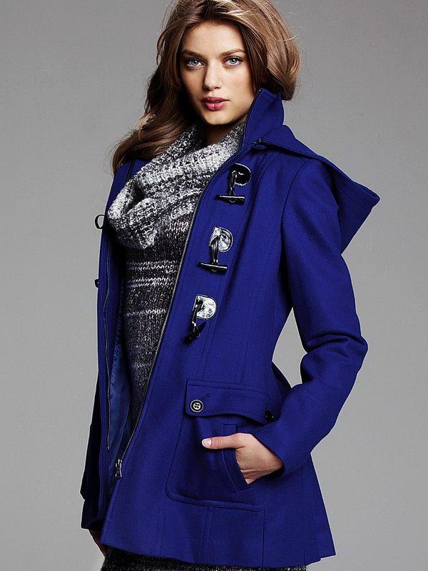 Women's Toggle Stylish Coats Fall Winter Fashion 2013 Trends