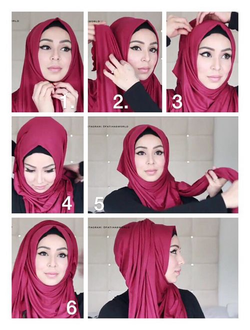This is one of the most wanted hijab looks everybody asks me about, the classic hijab tutorial with folds, I have shared so many before, using so many colors and patterns, with extra touches or styles, this one is pretty…