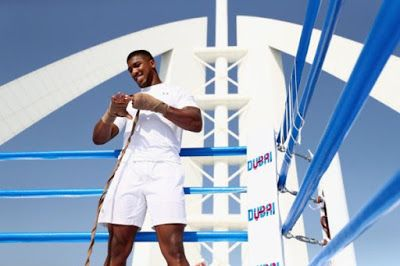 Anthony Joshua Takes His Training Sessions On Top Of Dubais Tallest Hotel