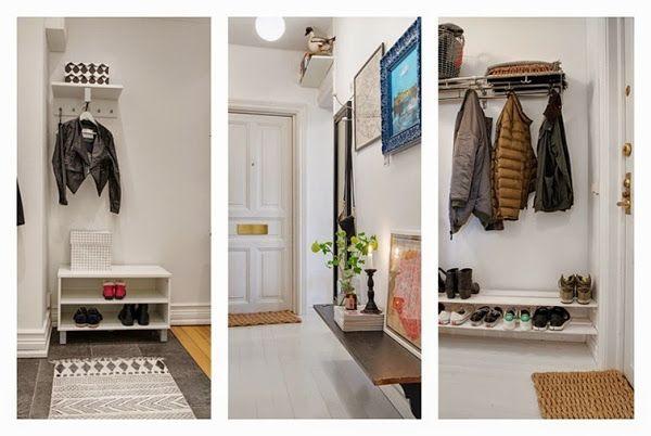 7 ideas para aprovechar pasillos y entradas decorar tu for Decoracion de pasillos