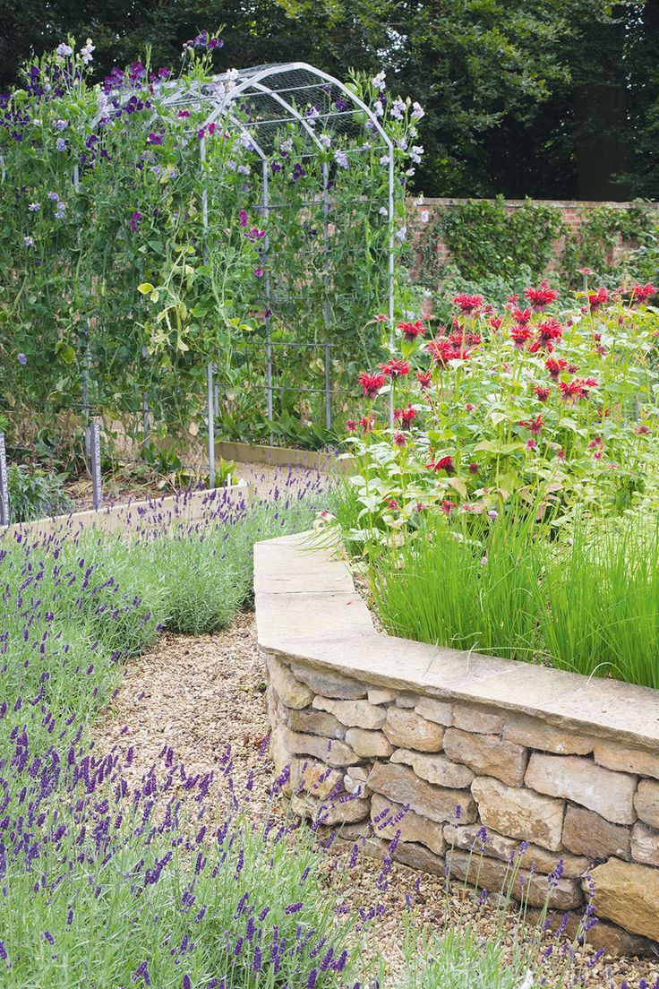 The 25+ Best Stone Raised Beds Ideas On Pinterest