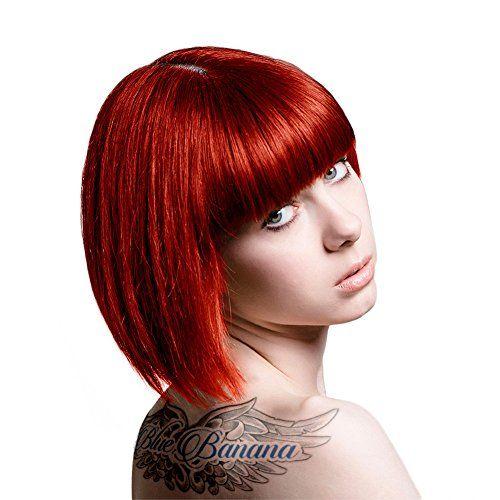tintes de cabello profesional rojo