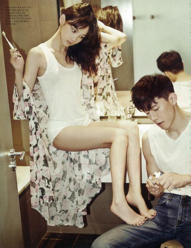 7 Romantic photos from Yoon Seung Ah and Kim Moo Yeol's wedding photo shoot
