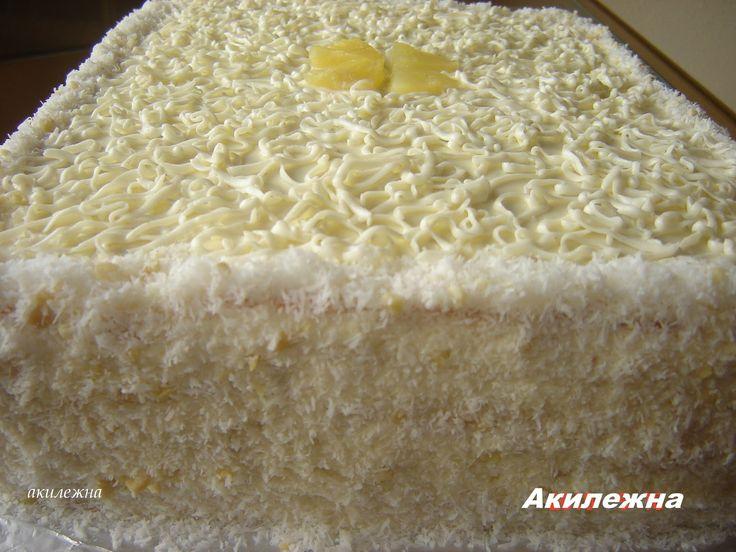 Для бисквита:   5 яиц  15 ст.ложек сахара  13 ст.ложек муки  2 столовые ложки крахмала  10 столовых  ложек ст.воды  2 чайные ложки ра...