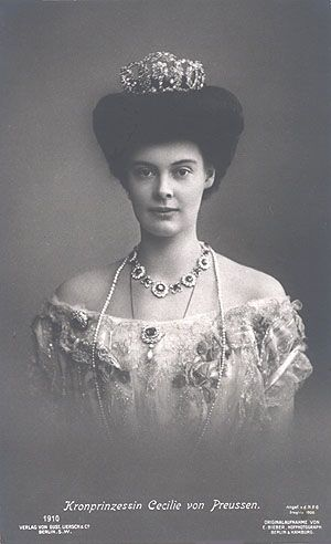 Crown Princess Cecilie of Prussia