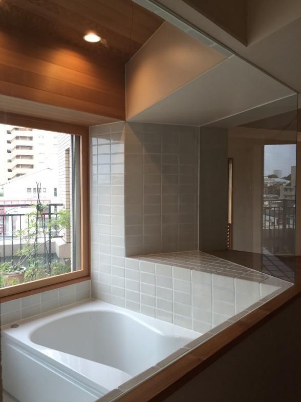 バス/トイレ事例:ハーフユニットバス(Iさんの家)