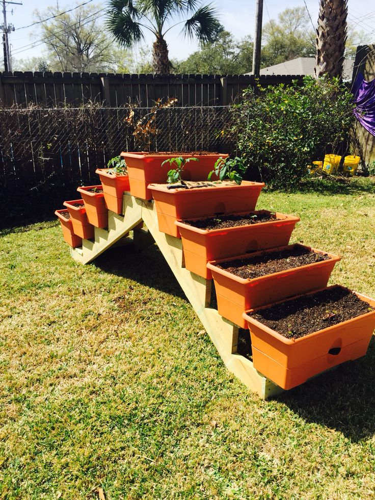 Best Planter I Made Using Pre Cut Stair Parts From Home Depot 640 x 480