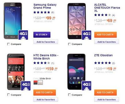 Prepaid cell phone deals at game / In store coupon for old