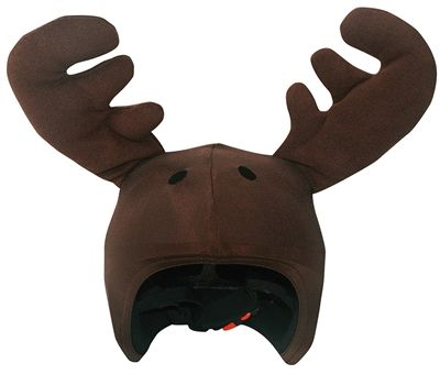 It moose be done! You're checking out the Moose Ski helmet cover. Is it possible that we've found the coolest way to jazz up your ski helmet? We think so! This helmet cover fits perfectly over just about any ski or snowboard helmet.