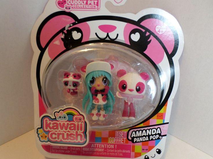 Kawaii Crush Cuddly Pet Collection Amanda Panda Pop Ages 4