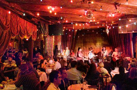 The Beehive, a restaurant and jazz club in the South End, with INCREDIBLE food and great music