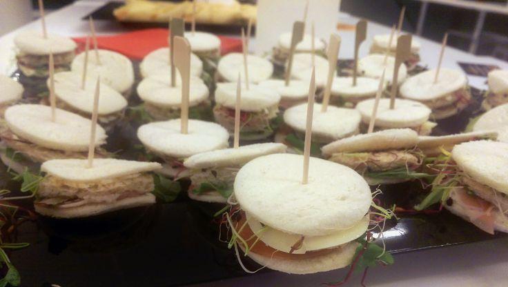 Mini club-sandwich