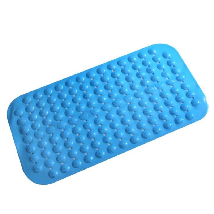 >> Click to Buy << Europe Style Bath Mat With Anti-slip Suction Cups PVC Colorful Bath Mat Used For Bathroom 37*68 Orange Blue Bath Carpet bath mat #Affiliate