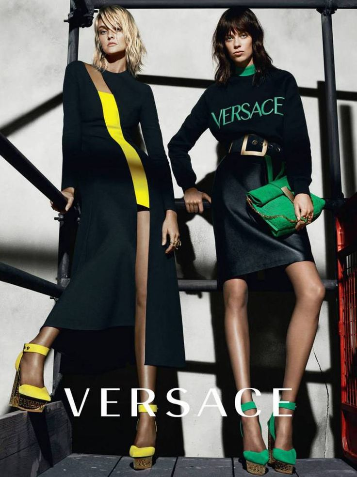 nice Versace Fall Winter 2015.16 | Karlie Kloss, Lexi Boling + More by Mert & Marcus  [Campaign]