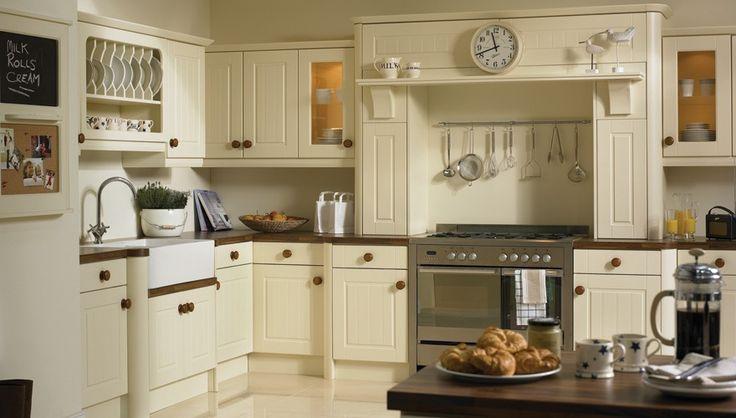 Cream modern country kitchen  Great Kitchens  Pinterest