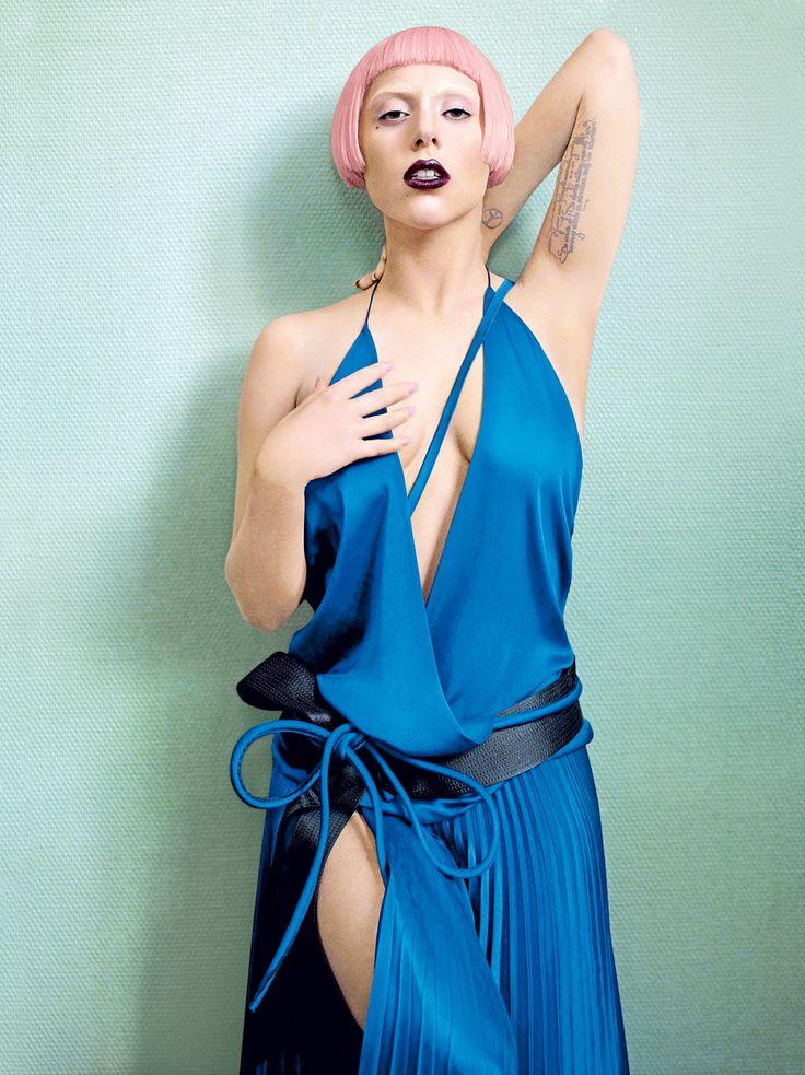 lady gaga: Mario Testino, That Girls, Pink Hair, Lady Gaga, Photos Shoots, Covers Photos, Vogue Magazines, Haider Ackermann, Vogue Covers