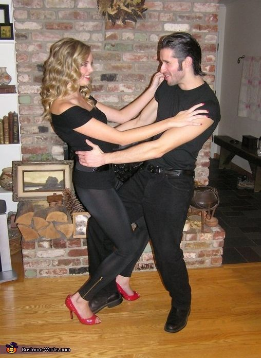 Danny and Sandy from Grease - Couple's Halloween Costume
