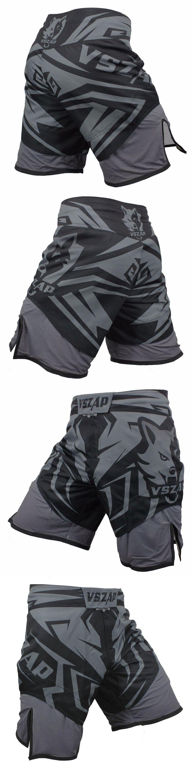 VSZAP  Fight Shorts MMA Shorts For Men Sotf MMA Muay Thai  Shorts Trunks Grappling Sanda Kickboxing  Boxe