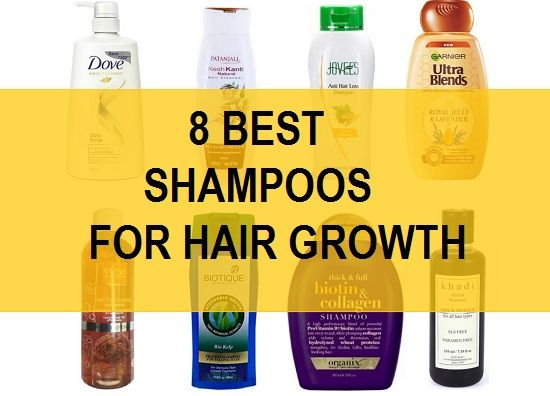 8 Best Hair Growth shampoos in India with price