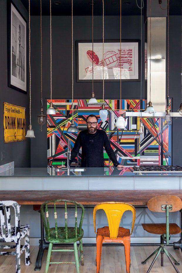 Great kitchen! Loft Houssein Jarouche (Foto: Fran Parente)
