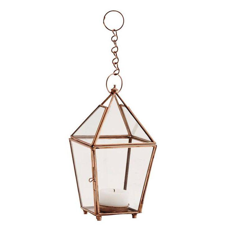 I've just found Copper Lantern Tea Light Holder. A gorgeous and decorative tea light holder. £9.50