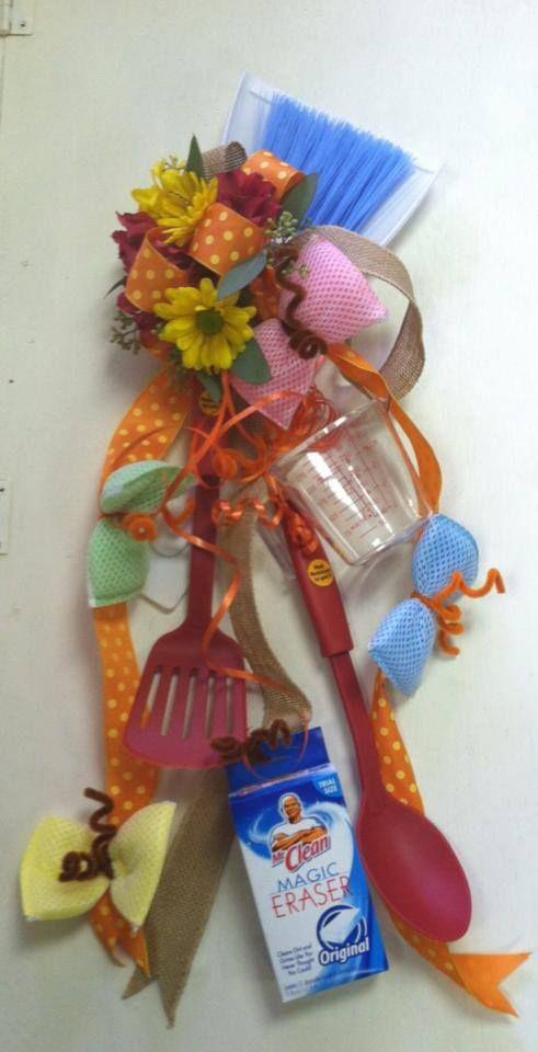 bridal shower corsage