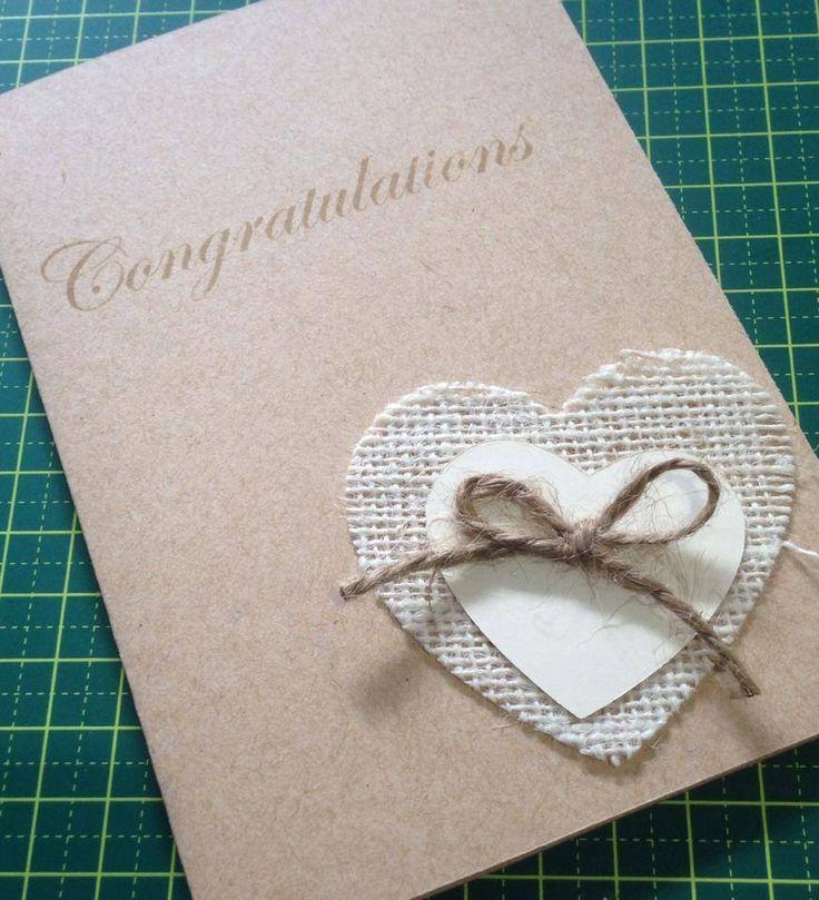 Vintage congratulations card #handmade