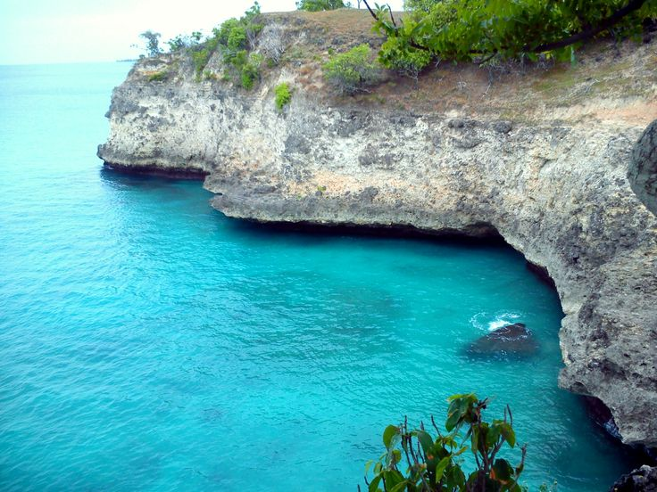 amazing cliff and a fishing spot take by aiukaze at krueng raya, Aceh Besar