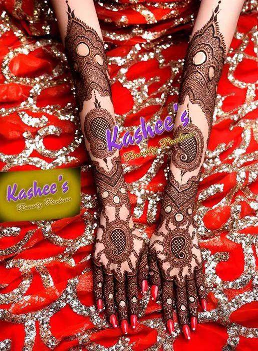 Indian Bridal Mehndi Designs for full hand by kashee Mehndi Designer