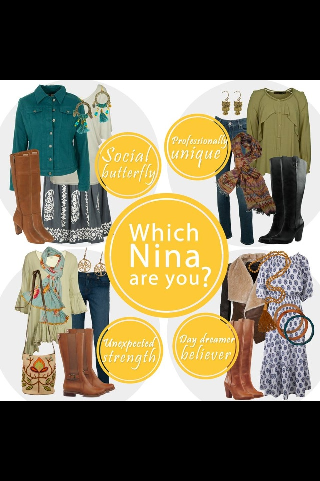 Birds nest styled outfits from Offspring