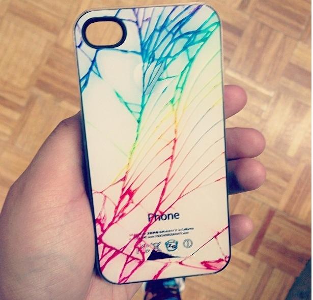 Cracked case