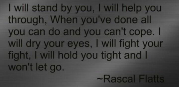 Holdin' On- Rascal Flatts Lyrics - YouTube