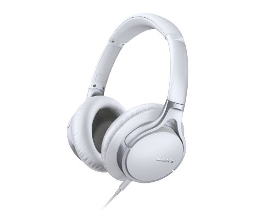 Hi-Res Stereo Headphones with a smooth look.