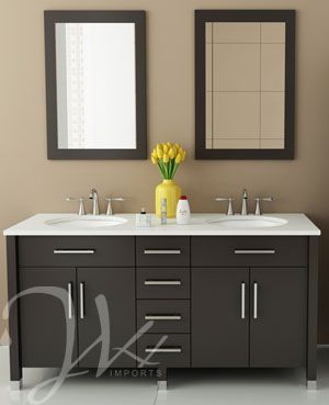 184 Best Modern Vanities Images On Pinterest  Bathroom Ideas Extraordinary Modern Bathroom Vanity Decorating Design