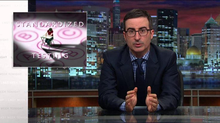 Last Week Tonight with John Oliver: Standardized Testing - Hilarious and insightful, though a bit crude at times.