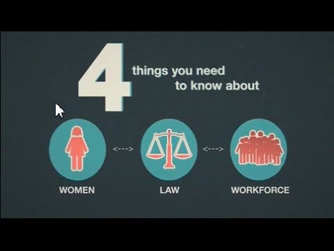 Four Things You Need to Know about Women, Work and the Economy - YouTube